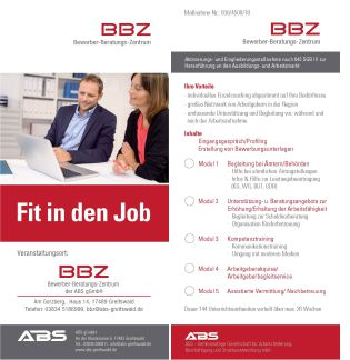 abs greifswald fit in Job klein